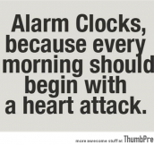 Thing about Alarm clocks