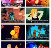6 Amazing quotes from Disney movies