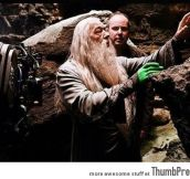 Behind the scenes of Harry Potter movie (23 Pictures)