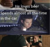 Dean from Supernatural is Supernatural indeed..