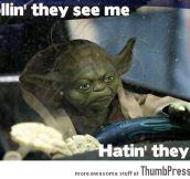 Gangster Yoda…