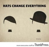 HATS CHANGE EVERYTHING.