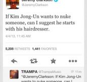 Jeremy Clarkson on Kim Jong