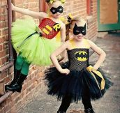 Awesome mom is Awesome – Princess Batman and Robin