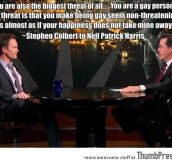 Stephen Colbert to Neil Patrick Harris