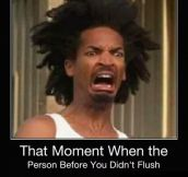 The moment when..