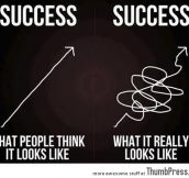 The thing about success