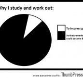WHY I STUDY AND WORK OUT…