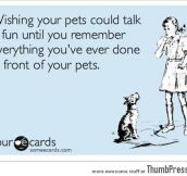What if your pets could talk?