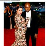 The Internet Blew Up Over Kim Kardashian's Met Gala Dress (9 Pics)