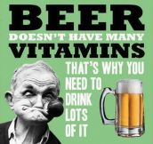 Another reason to drink beer
