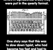 History of The Qwerty Keyboard