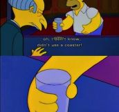 Homer is one evil man