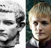 Joffrey Baratheon Looks Exactly Like A Cruel Roman Leader