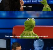 Kermit the Frog on roles he has turned down.