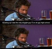 My name is Zach Galifianakis.. I think I'm saying that right.