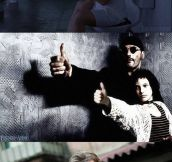 Replacing Guns With Thumbs in Famous Movie Scenes
