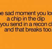Sad story of chip and dip