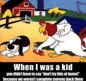 WHEN I WAS A KID…