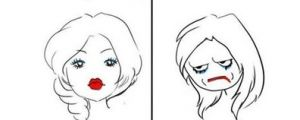 When I Stay Home All Day vs. When I Have To Go Out.