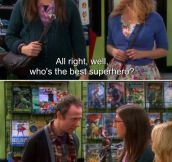 Wisdom From BBT – There are some questions you just can't ask in a comic book store…