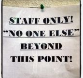 Completely Unnecessary Quotation Marks Used On Public Signs (25 Pics)