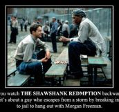 If You Watch These Movies Backwards… (30 Pics)