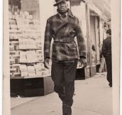 1940s street style…