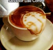 Salvador Dali Coffee…