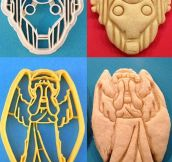 Doctor Who cookie cutters…