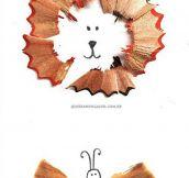 Pencil shavings…