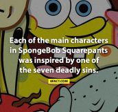 The truth about SpongeBob characters…
