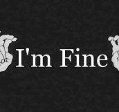 Sure, I'm fine…