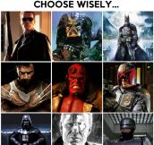 Make a wise choice…