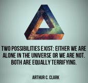 Two possibilities exist…