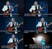 American lyrics…