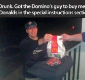 This is why I love Domino's…