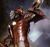 Epic Egyptian Iron Man…