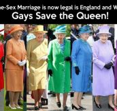 Gays Save the Queen…