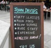 English Humour…