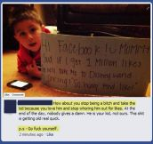 How not to be a parent…