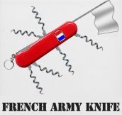 French army knife…