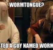 Seriously, Wormtongue?