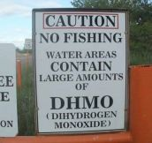 Beware of DHMO, it's everywhere…