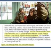 You're a bad person Harry Potter…