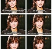 Jennifer Lawrence on weight and eating issues…
