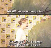 Jennifer Lawrence being Jennifer Lawrence…
