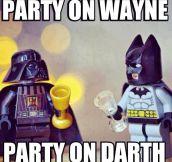 Party on Wayne…