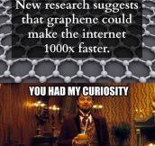 You had my curiosity…