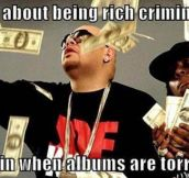 Scumbag rappers…